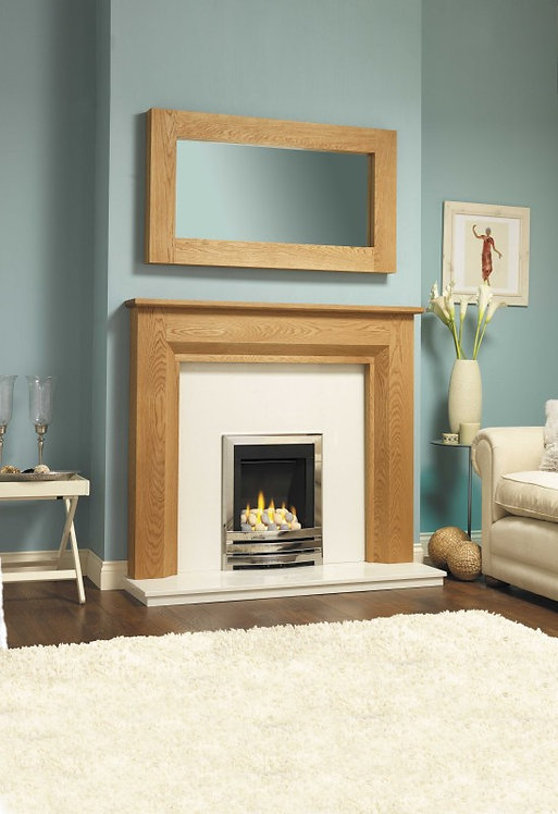 GB Mantels Lewisham Oak Veneer Surround