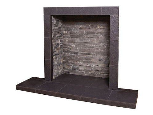 Grey Slate Chamber with Large Hearth