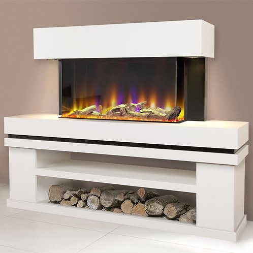 Celsi Electriflame VR Media 750 Illumia Electric Fireplace Suite