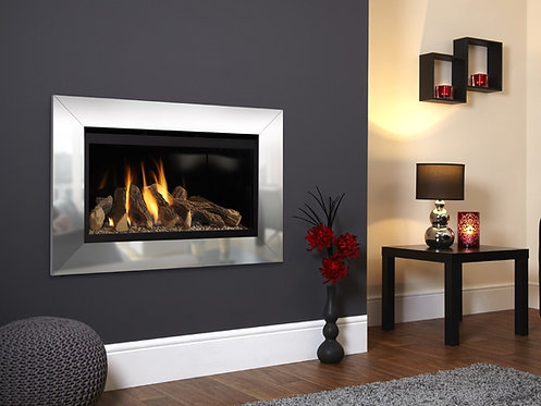 Flavel Rocco Balanced Flue Gas Fire Chrome Trim