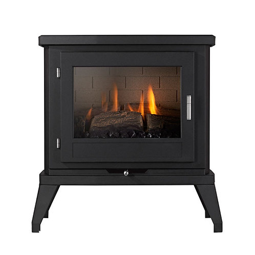 EKOFIRES 6030 FLUELESS GAS STOVE - BLACK