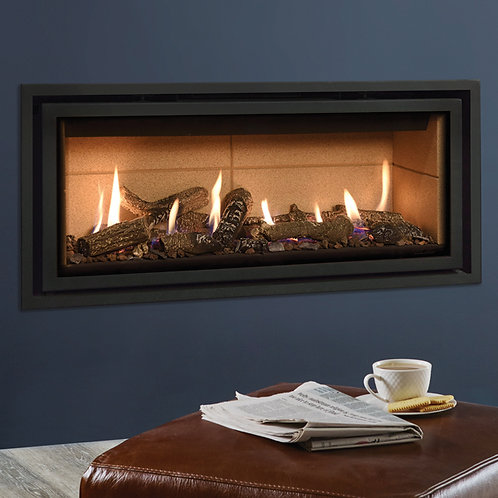 Gazco Studio Edge + Plus Balanced Flue Gas Fire