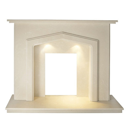 The Phoenix Marble Fireplace