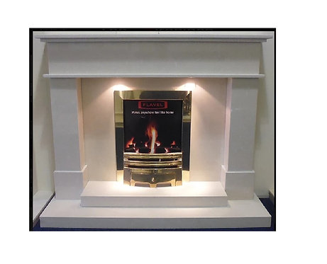 Conway Marble Fireplace
