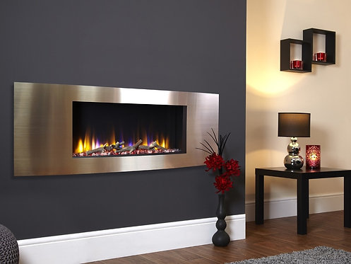 Celsi Ultiflame VR Vichy - Inset Electric Fire Champagne