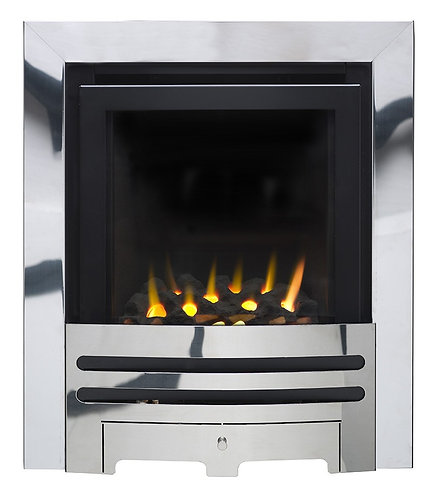 POLARIS SLIMLINE HE GLASS FRONTED GAS FIRE