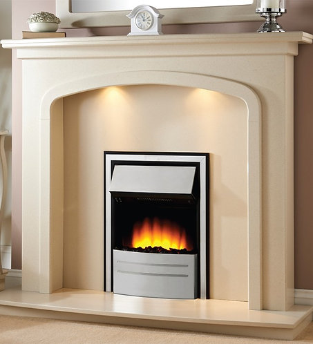 CONTEMPORARY ARCH WITH ELAN ELECTRIC FIREPLACE SUITE