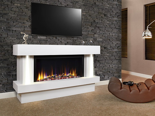 Ultiflame VR Orbital Illumia Suite Premier Electric Fireplace Suite