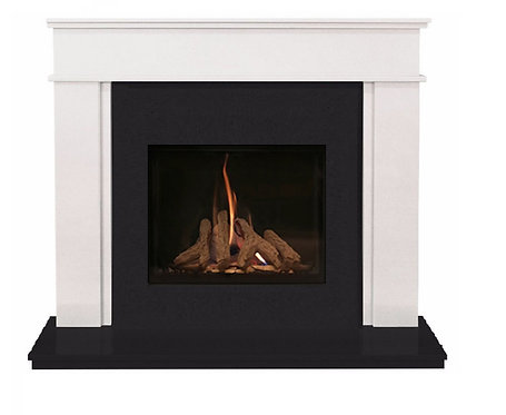 Hamilton 48 inch Marble Fireplace Suite