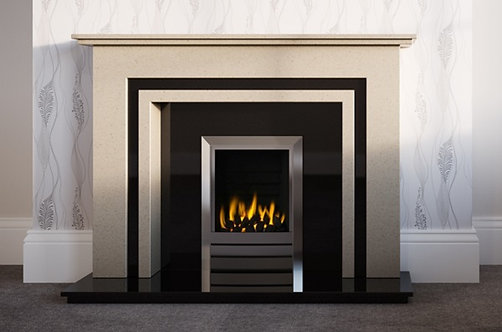 The Barton Marble Fireplace