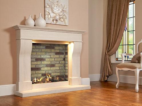 Da Vinci Illumia Slimline Balanced Flue Gas Fire Suite