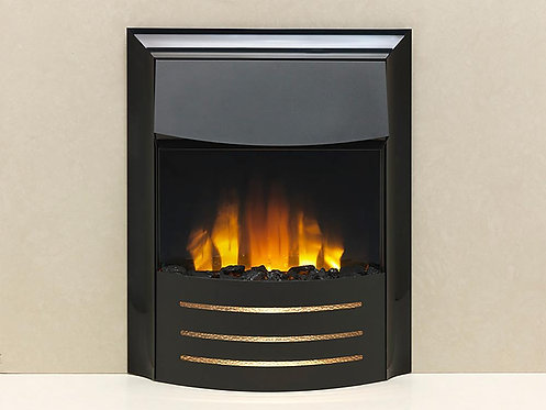 Cisco Extreme Black Electric Inset Fire