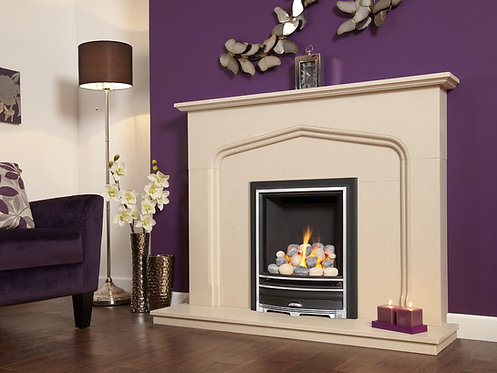 Kinder Kalahari Gas Fire Hearth Mounted Inset Gas Fire