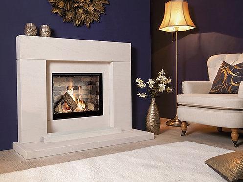 Pablo Celena Suite Limestone Fireplace Suite CF
