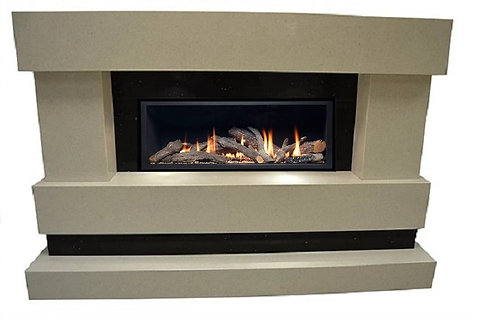 Pinnacle HE Gas Fire Suite