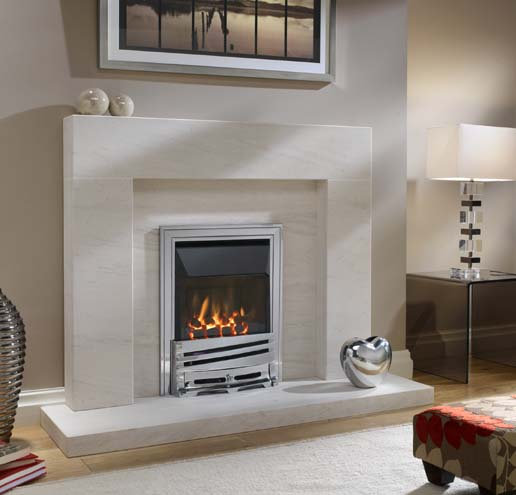 Eko 4010 HE Gas Fire Glass Fronted 4.0 KW Output