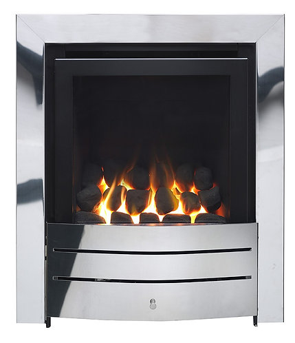 SIRIUS FULL DEPTH HE GLASS FRONTED GAS FIRE 4.2 Kw