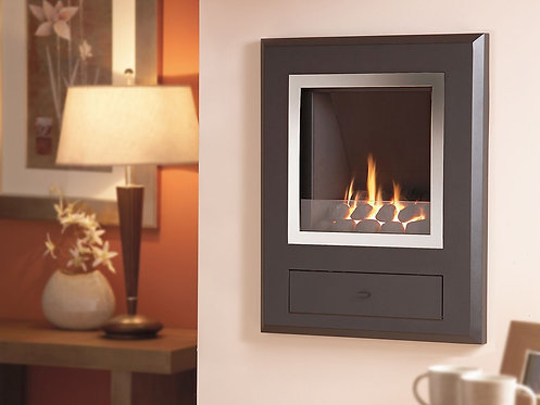 Flavel Finesse Gas Fire Chrome Coal