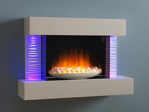 Luma 900 Wall Mounted Electric Fireplace