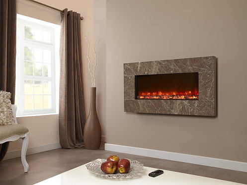Celsi Electriflame Prestige Brown Electric Fire