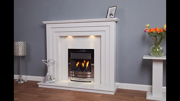 New York Marble Fireplace Surround