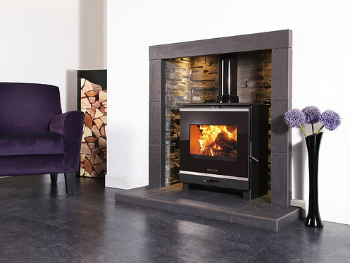 Portway 2 Glass Multifuel Stove