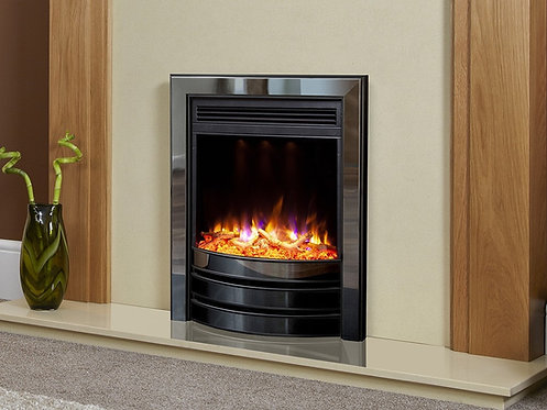 Celsi Electriflame XD Signature Inset Electric Fire Black Nickel