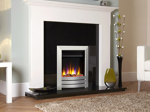 Ultiflame VR Camber Electric Fire Hearth Mounted Inset Electric Fire