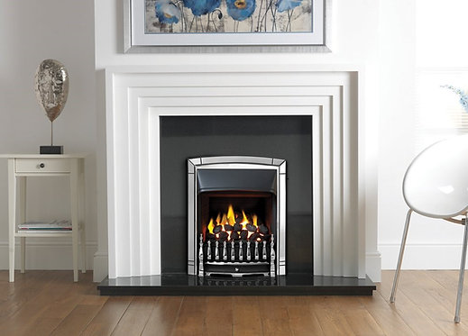 Chelsea Marble Fireplace with Valor Dream Inset Gas Fire
