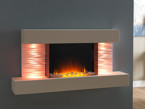 Luma 1200 Wall Mounted LED Electric Fireplace