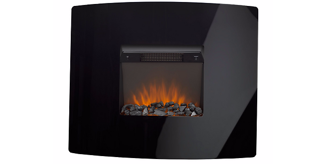 Ignite Pinnacle Glass Wall Hung Electric Fire