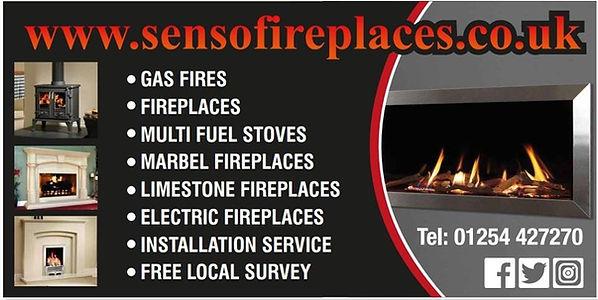 Senso Fireplaces Tel: 01254 427270