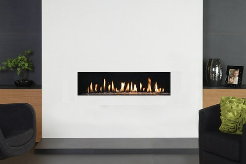 Deluxe 10 Frameless Open Fronted Gas Fire