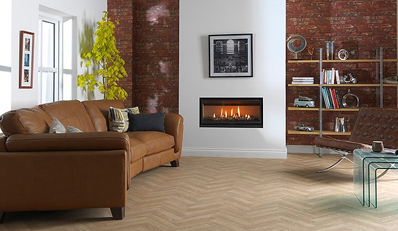 Valor Inspire 1000 HE Hole in the Wall Gas Fire | Frameless Gas Fire