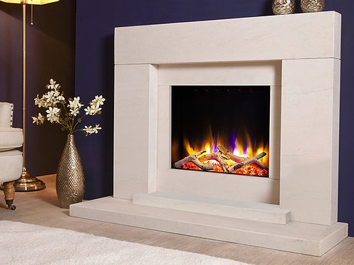 Ultiflame VR Pablo Electric Fireplace Suite