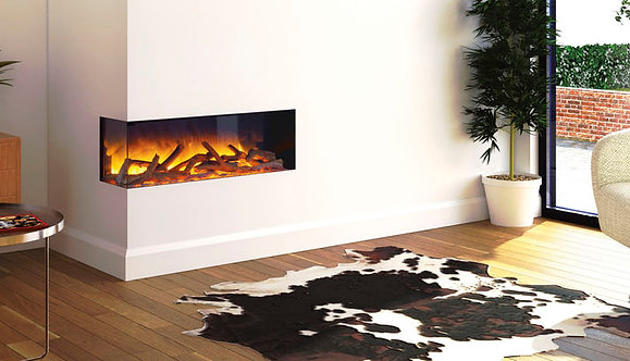 Flamerite Glazer 900 2-Sided Inset Electric Fire