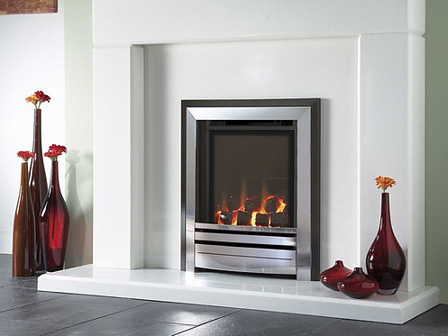 Verine Frontier HE Gas Fire Hearth Mounted