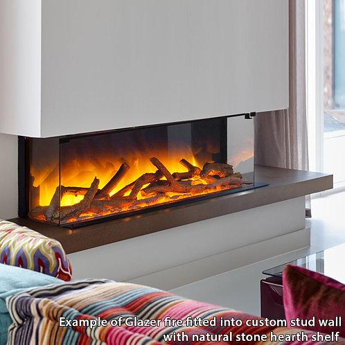 Flamerite Glazer 900 3-Sided Electric Fire