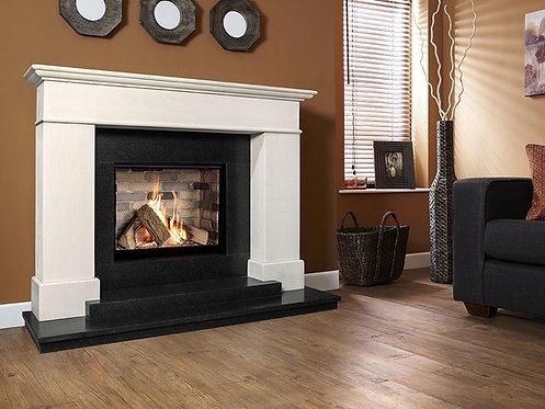 Botticelli Limestone & Granite Celena Gas Fire Suite CF