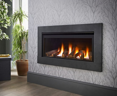 Crystal Fireplaces Boston Wide HE Gas Fire