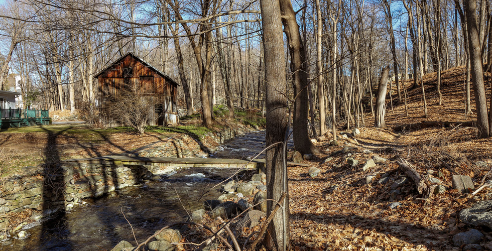 Creekside Outdoor Area