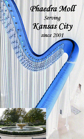 Harpist Phaedra Moll