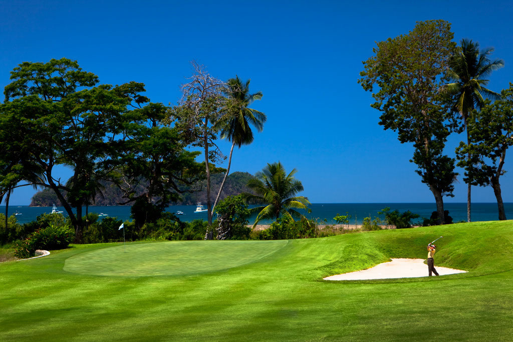 Scenic Los Suenos Golf Course