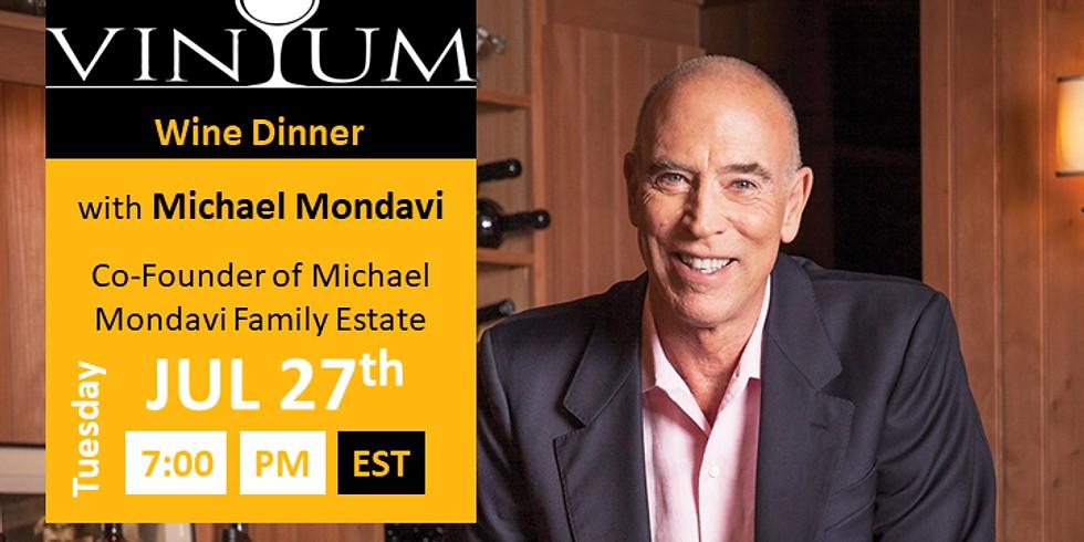 Michael Mondavi Family Wine Dinner