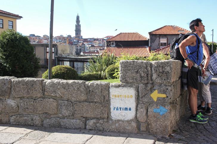Señales del Camino de Santiago y Fátima