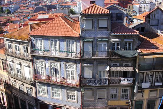 Vistas a la calle y edificios
