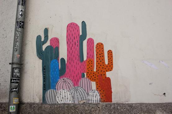 Grafittis de cactus