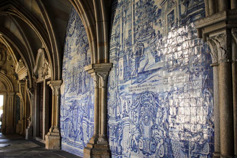 Interior de la Catedral de Porto