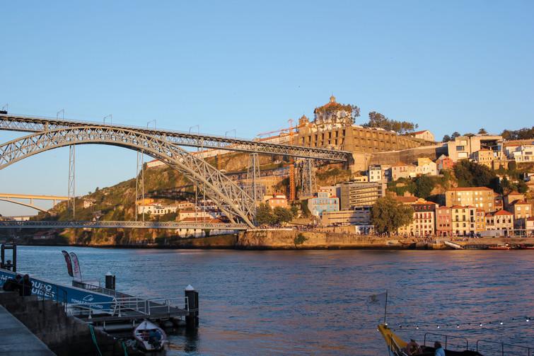 Ponte Luiz I desde la Ribeira