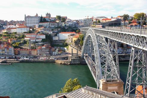 Ponte Luiz I desde Vila Nova de Gaia